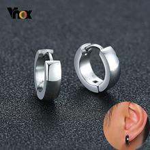 Простые маленькие серьги кольца vnox разных цветов для женщин