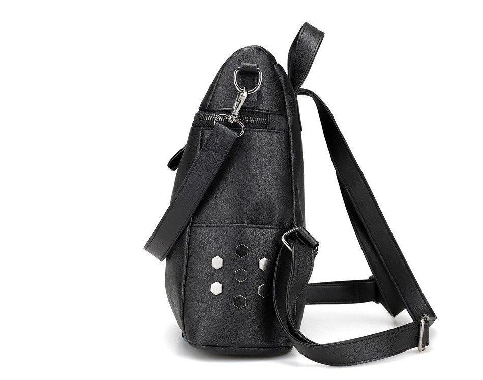 H56ba32ff88fd4c6f86548e2e8b08d54cd Herald Fashion Women's PU Leather Backpack School Bags For Teenage Girls Large Capacity Backpack Laptop Bag Drop Shipping