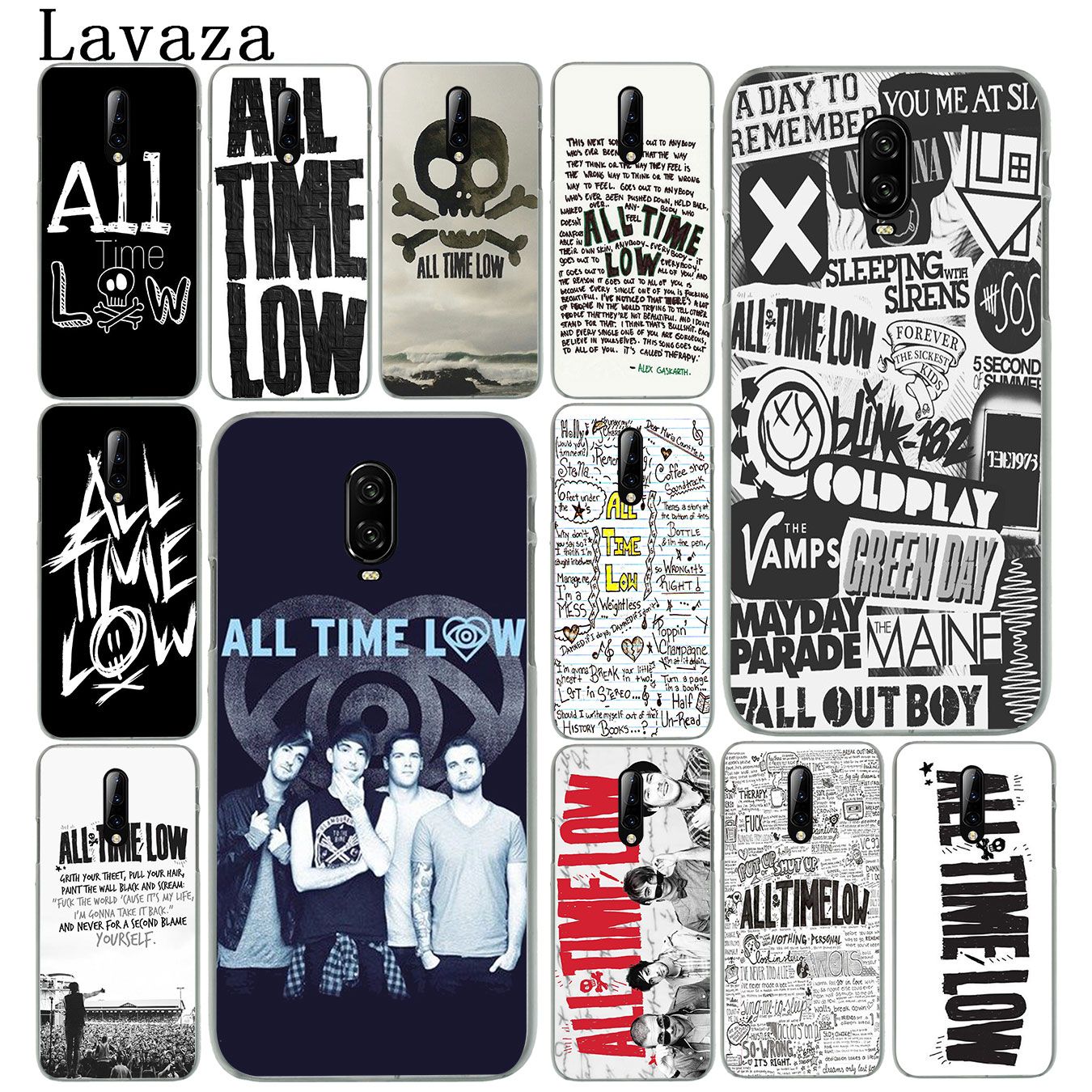 All Time Low Alex Gaskarth Band Hard Plastic Cell Phone Case for Oneplus 7 Pro 6 6T 5 5T Cover One Plus 7Pro image