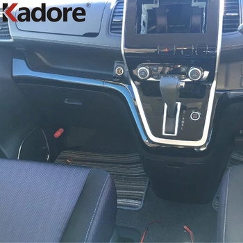 For Nissan Serena C27 2016-2018 2019 ABS Black Color Car Interior Center Control Dashboard Cover Trim Decoration Auto Styling