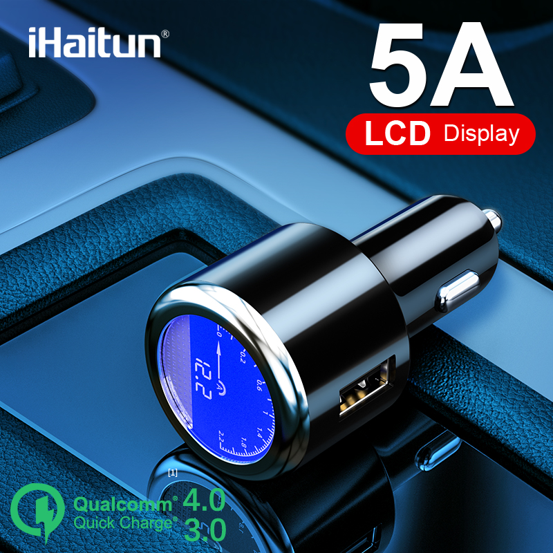 Ihaitun Car-Charger Oneplus Huawei P30 Samsung Quick For iPhone USB S9 S10/Quick/Usb-3.0/..