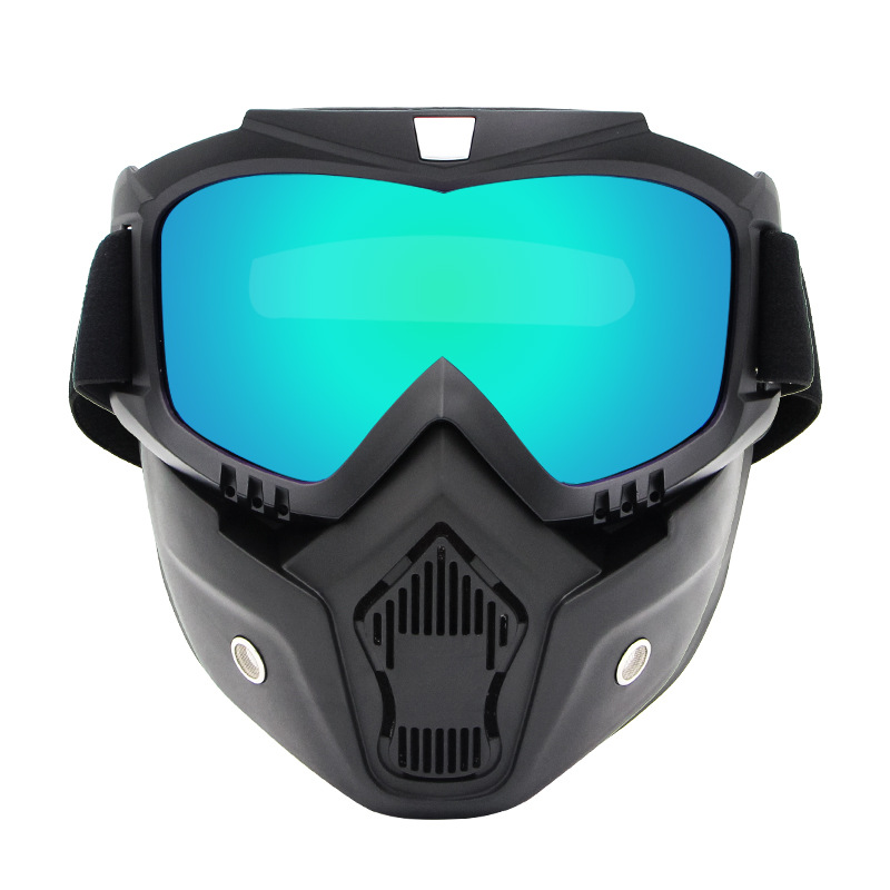 Outdoor Cool Retro Harley Mask Off-road Goggles Motorcycle Helmet Eye-protection Goggles Riding Mask