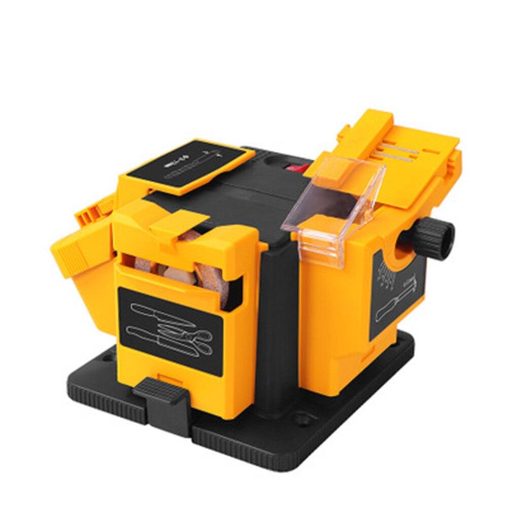 Шлифовальный станок 3 в 1 многофункциональные ножницы точилка набор бытовой электрической шлифовальной Точилки для ножниц дрель абразивны