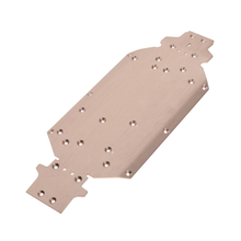 Metal Aluminum Chassis Plate for WLtoys 1/14 4WD Buggy RC Car Upgrade Parts
