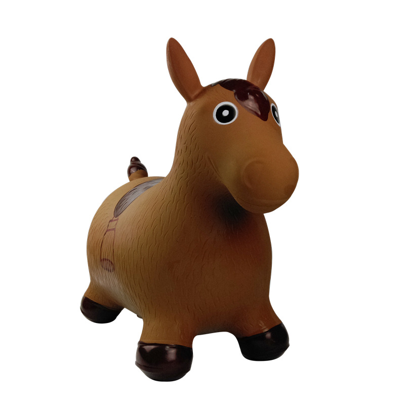 Children Music Toy Jumping Horse Riding Extra-large Thick Environmentally Friendly Tiao Lu Toy Cows Baby Riding Inflatable