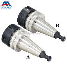 DGAMDJ portaherramientas de equilibrio de alta velocidad, portaherramientas de husillo CNC G2.5, 30000RPM, con perno de tracción accuracy0.005, ISO30 45L