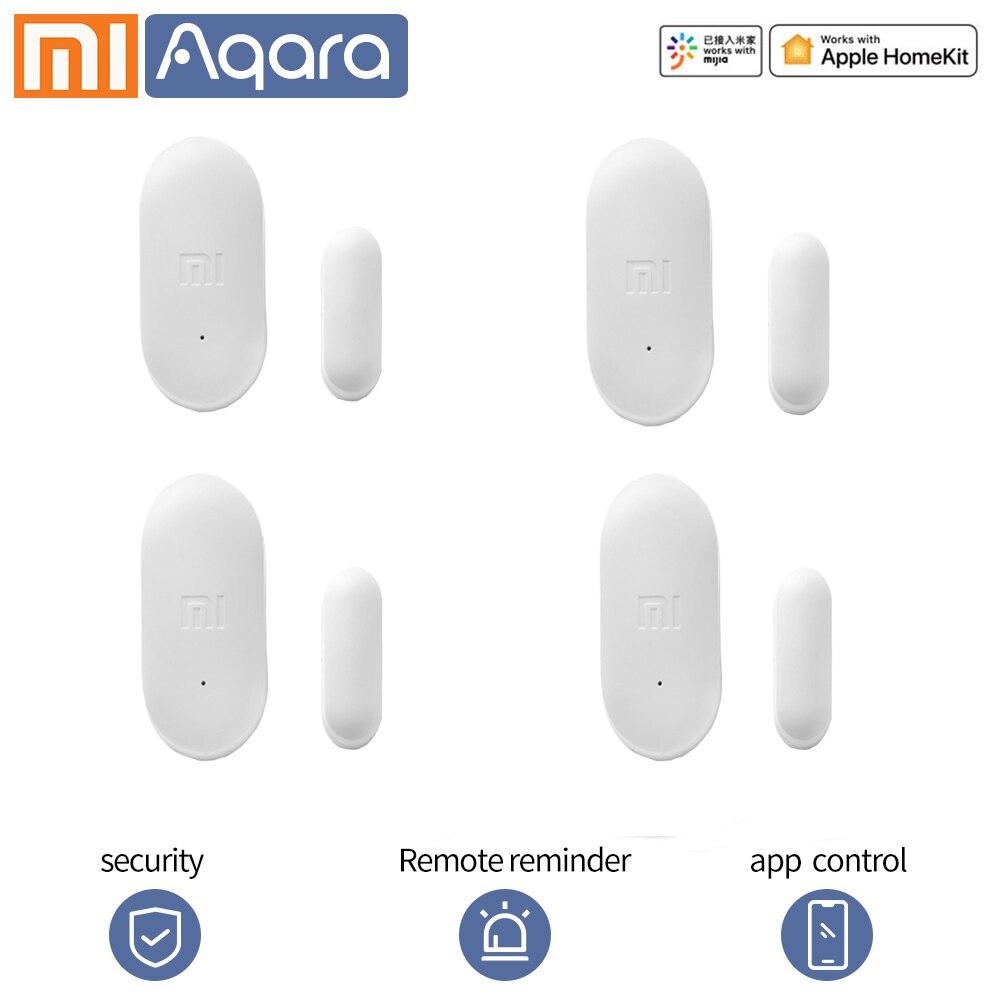 Xiaomi умный дверной оконный датчик xiaomi умный дом комплекты mijia мини оконный датчик дверной pir датчик работа с приложением zigbee умный дом