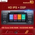 IPS DSP 1din Android 10 автомобильный DVD-плеер для BMW X5 E53 E39 мультимедийное радио аудио GPS Стерео навигация Основной блок 8 ядер 4 Гб 64 ГБ