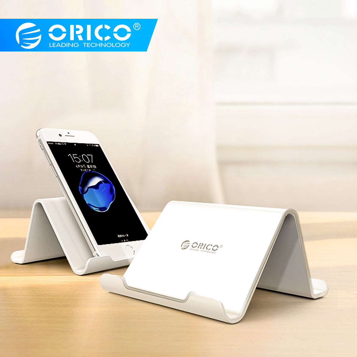 ORICO Double-side Desktop Holder For IPhone 8 Universal Mobile Phone Stand Desk Mount Holder Stand For Samsung Tablet IPad
