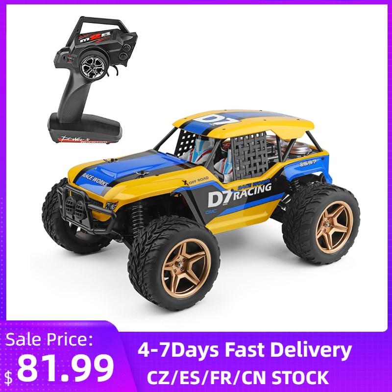 Wltoys XK 12402-A D7 1/12 RC Car 550 Motor 2.4GHz 4WD 45Km/H RC Rock Racing Crawler Off Road RC Car Vehicles Truggy Car Adults