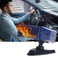 Universal DC12V/24V Car Vehicle Cooling Fan Hot Warm Heater Windscreen Demister Defroster Portable Auto Car Van Heater