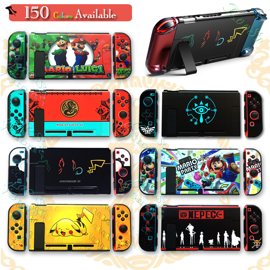 Nintendoswitch Protect PC Case Nintend Switch Accessories Carrying Shell Skin Nintendos Cover Nitendo Grips For Nintendo NS
