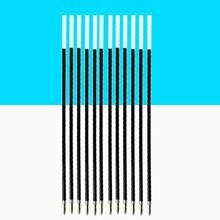100 шт 07 мм шариковая ручка синие чернила заправка канцелярские