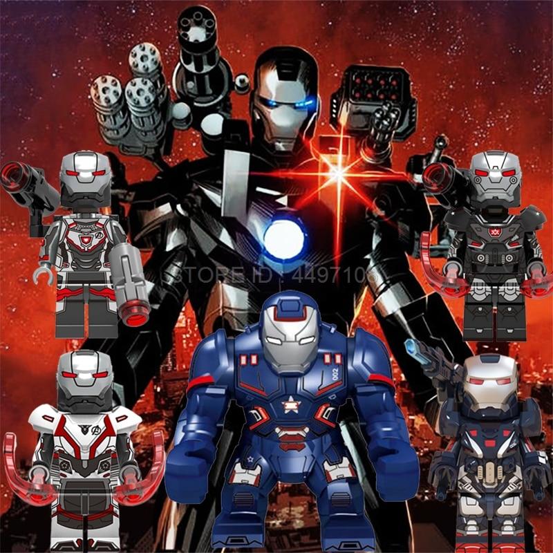War Machine Hulkbuster Avengers Endgame Captain America Marvel Super Heroes Iron Man Building Blocks Toys For Children Christmas