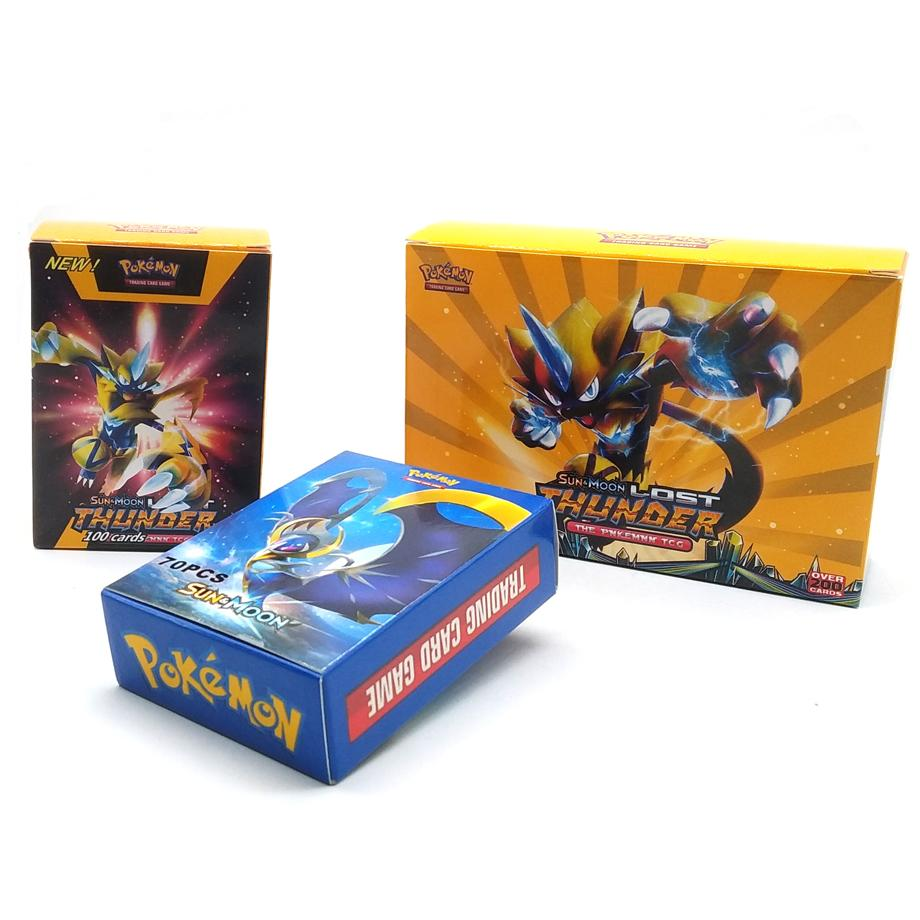 New 100pcs Pokemon Card Pet Elf Battle Card GX Pocket Monster Game Collection Children's Gifts For Christmas