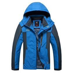 2019 New North Autumn Winter Jacket Men Outdoor Sport Coats Face Windproof Climbing Thin Parkas Clothing Plus Size Streetwear