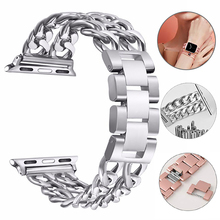 Stainless Steel Band For Apple Watch 5 4 3 2 1 Band 38mm 42mm 40mm 44mm strap wristband Metal Band for iWatch Series 5 4 3 2 1