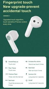Image 5 - Mini TWS Touch Control Bluetooth 5.0 słuchawki bezprzewodowe 4D słuchawki Stereo gamingowy zestaw słuchawkowy z redukcją szumów dla smartfonów
