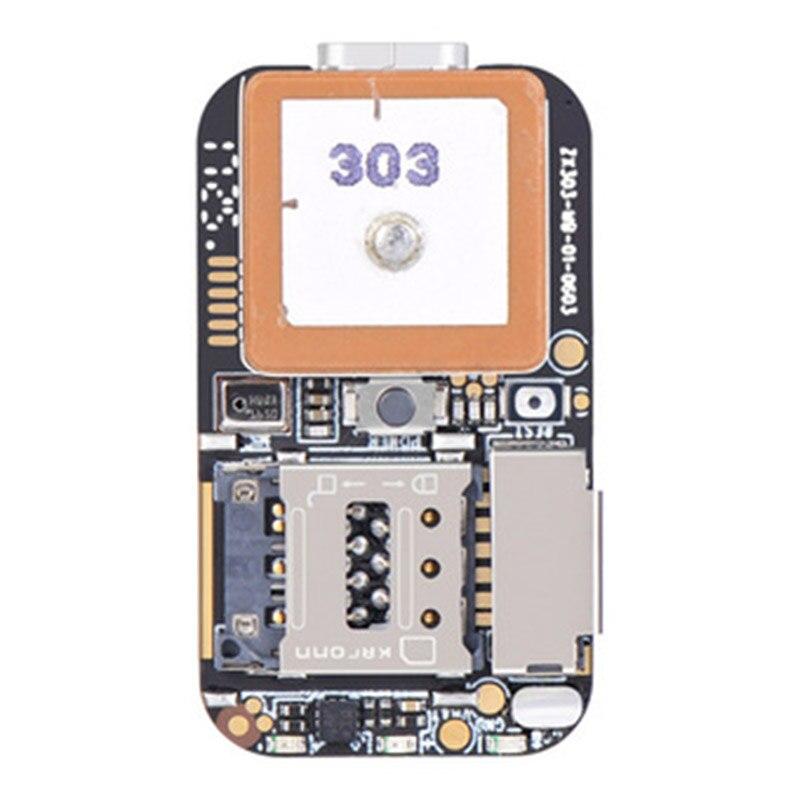 Super Mini Size GPS Tracker GSM AGPS Wifi LBS Locator Free Web APP Tracking Voice Recorder ZX303 PCBA Inside 87HE