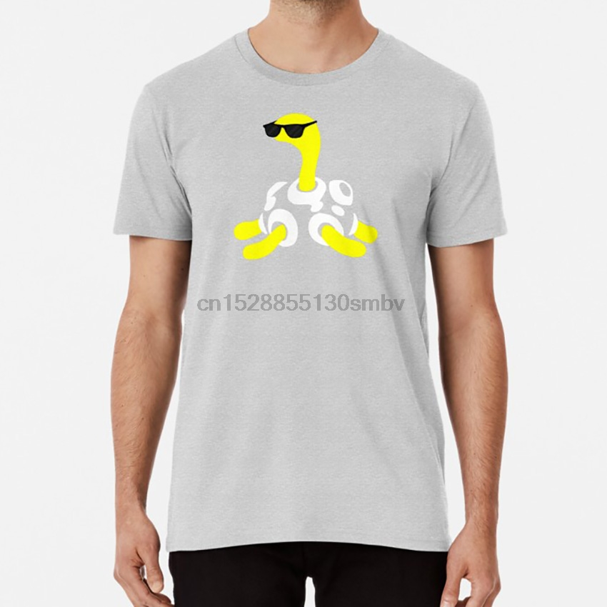 (Wordless) Shuckle T shirt shuckle pocket monsters red turtle geeky vector
