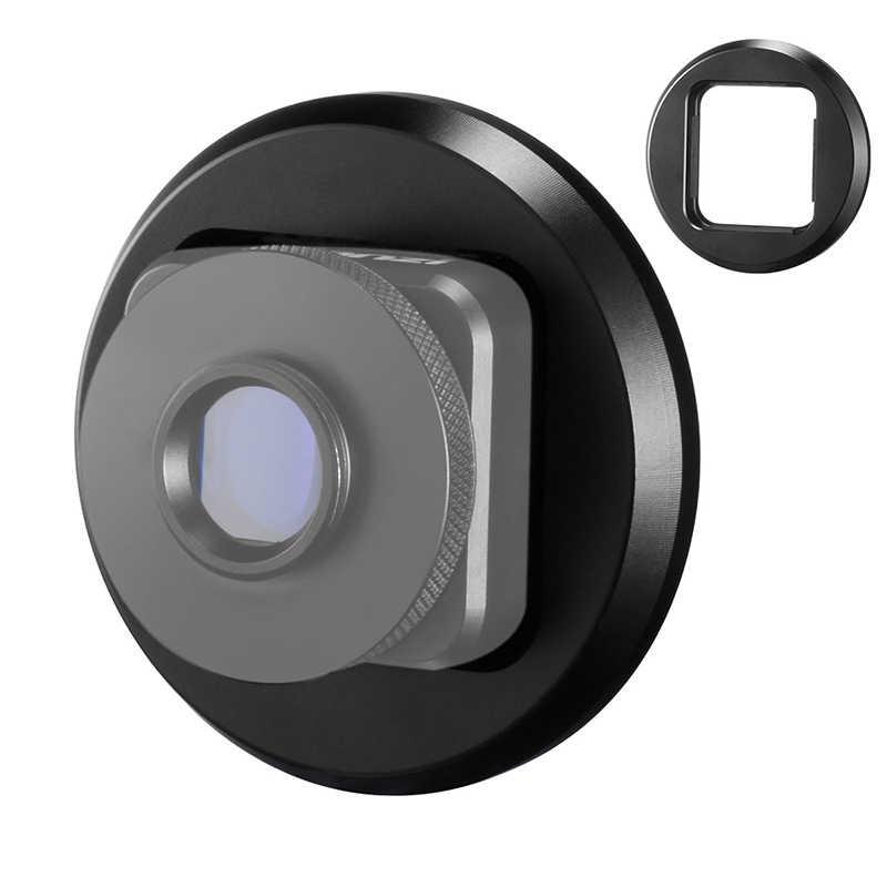 Nowość-dla soczewki anamorficznej Ulanzi 52MM Adapter do filtra pierścień do telefonu komórkowego 1.33X szeroki ekran obiektyw filmowy Videomaker Filmmaker