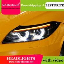 ل BMW Z4 E89 2009 2016 المصابيح الأمامية جميع LED العلوي DRL الديناميكي إشارة Hid رئيس مصباح ثنائية زينون شعاع اكسسوارات السيارات التصميم