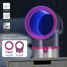 LED moustique tueur lampes UV veilleuse USB intérieur électrique moustique répulsif tueur Bug Zapper moustique piège lanterne lampe