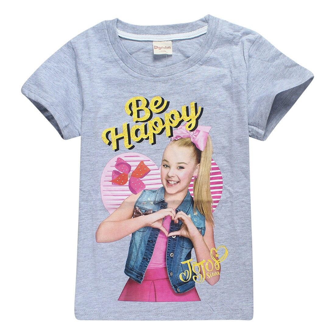 JOJO SIWA Alan Walker/детская одежда для мальчиков детские футболки с короткими рукавами футболка с принтом «Share the love» топы для девочек, футболки для