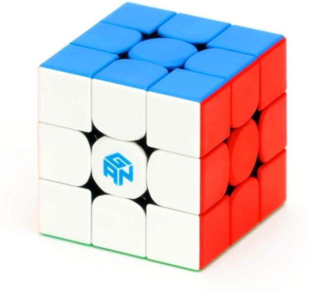 Newest GAN356 M 3x3x3 Magnetic magic Cube stickerless 3x3 Speed Cube GAN 356 Professional Puzzle Gan Cube Educational Toys 4