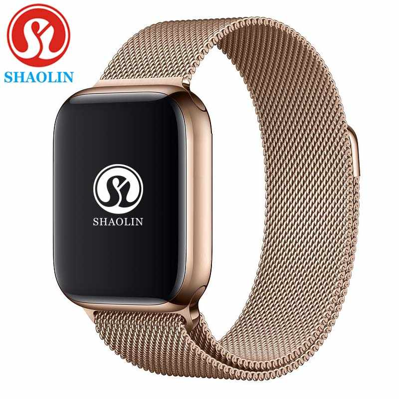 Reloj inteligente Bluetooth 4 42mm estuche para reloj inteligente para Apple iOS iPhone 8 PLUS XS Xiaomi Android Teléfono Inteligente no Apple Watch