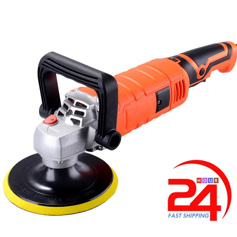 Car-Polishing-Machine Polisher Furniture Automobile Electric-Cars Adjustable-Speed 220V