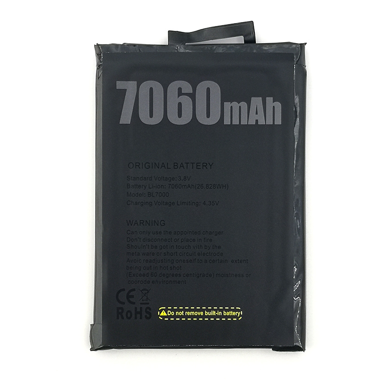 100% オリジナル 7060mAh BL7000 バッテリー Doogee BL7000 携帯電話在庫最新の生産高品質のバッテリー
