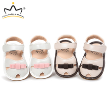 Toddler Shoes Sandals Infant Girls Summer New Cute Anti-Slip Bows