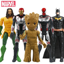 12 Inch/30CM Avengers Iron Man Black Panther Marvel Action Figure Captain America Hulk New Style Model Doll Toys Gift for Boys