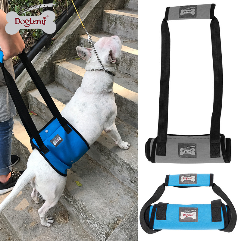 Dog-Leg Walk Auxiliary Suspender Strap Pet Older Dog Hind Legs Injured Protection Dog Walker With Car Upstairs