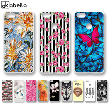 AKABEILA Case For TP-LINK Neffos C9A Cases Silicone Flamingo Cover For TP-LINK Neffos C9 TP707A TP707C TP706A TP706C Covers