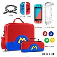 Estuche de viaje para Nintendo Switch, bolsa de transporte para consola Nintendo Switch, accesorios para Switch
