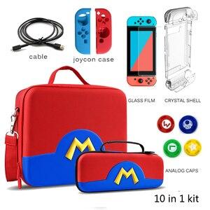 Image 1 - Reise Lagerung Schalter Fall Spiel Trage Tasche für Nintendo Schalter Konsole Joycon Swithc Pro NS Nintend Schalter Zubehör