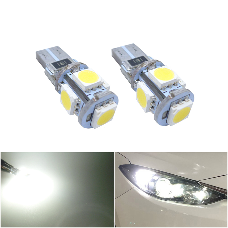 2x T10 W5W <font><b>LED</b></font> Clearance Light Marker Lamp Bulb For BMW E46 E90 E60 E39 <font><b>E36</b></font> F10 F30 X5 E53 E70 E87 M3 M5 image