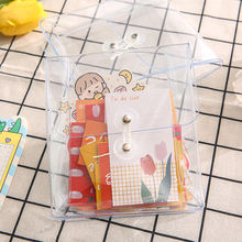 17x14 см из прозрачного пластика мини сумка Портативный подставка