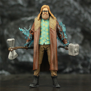 Avengers Endgame Fat Thor with Mjollnir Hammer and StormBreaker Axe Action Figure 7inch. 1