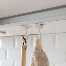 2/4/8pc Door Hooks door hanger Rotatable Hanging Holder Storage Hook Organizer Bathroom towel perchero puerta