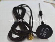 SIM300 SIM908 SIM900 GSM antena na przyssawce (900-1800 MHZ \ 16 cm) SMA męski interfejs głowy 3M