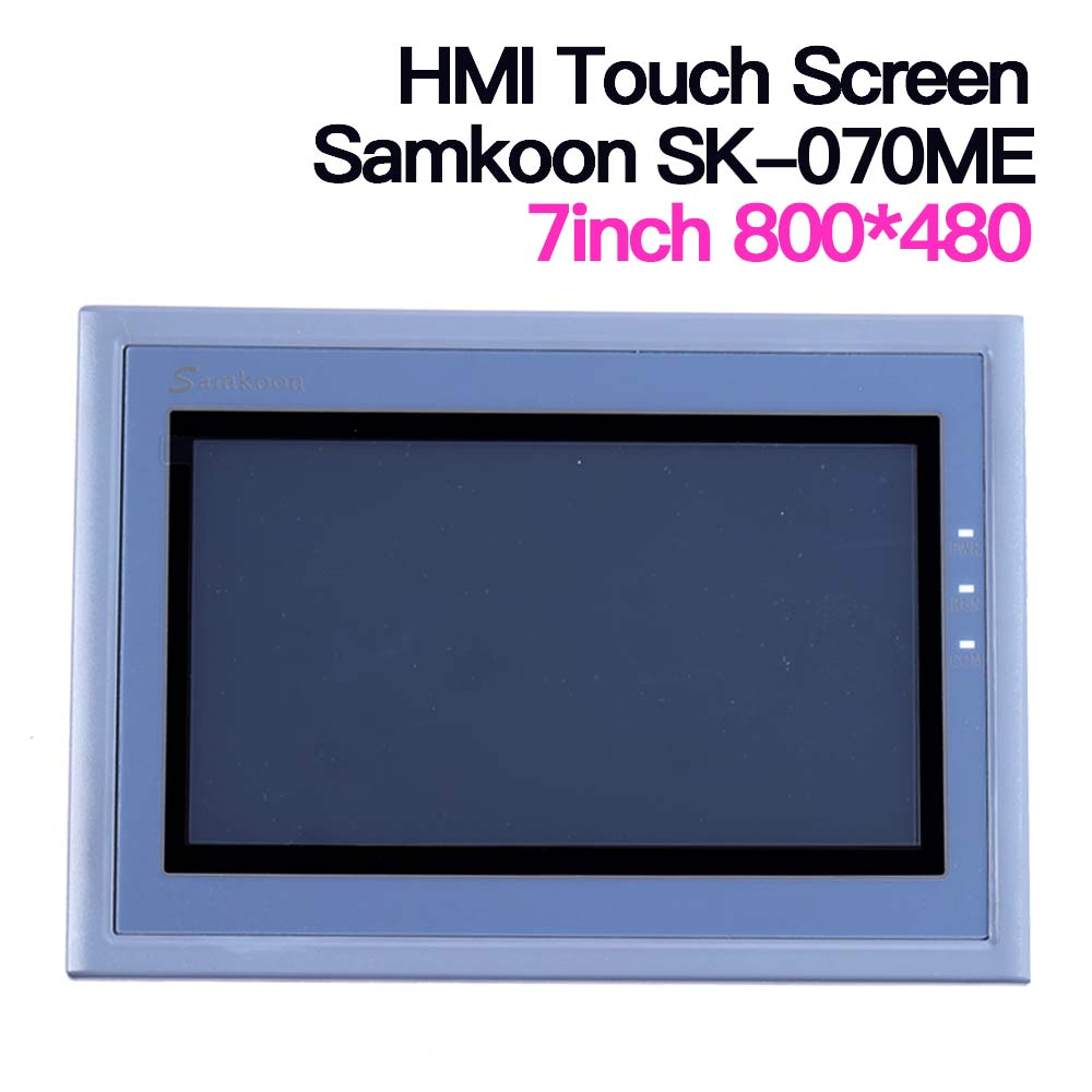 7'' Inch Samkoon HMI Touch Screen SK-070ME AMX-070C Human Machine Interface Touch Panel Replaced By AMX-070C