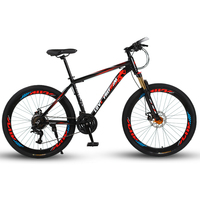 Love Freedom 24 speed 26 inch mountain bike bicycles double disc brakes student bike Bicicleta road bike Free Delivery 1