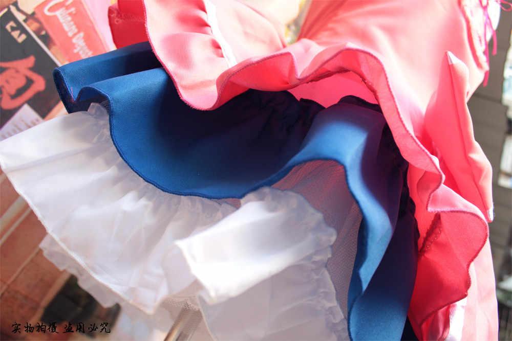 日本アニメ愛ライブ学校アイドルプロジェクト南ことりキャンディーメイド制服プリンセスロリータドレスコスプレ衣装ワンサイズ