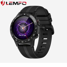 LEMFO Smart Watch Men M5S SIM Card Bluetooth Calls GPS Compass Barometer Heart Rate Monitor Music Control Smart Watch(China)