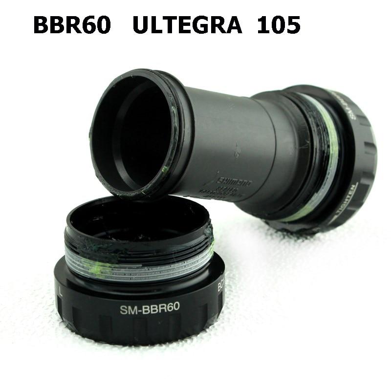 Shimano ULTEGRA 105 Bottom Bracket R8000 R7000 SM-BBR60 BSA Engish Thread  BBR60 Central Movement 68mm