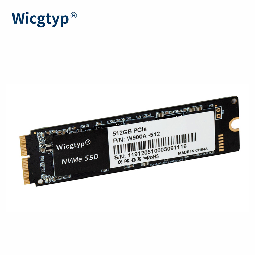 hot Wicgtyp 256GB 512GB 1TB <font><b>M.2</b></font> <font><b>SSD</b></font> <font><b>PCIe</b></font> for Mac <font><b>SSD</b></font> M2 NVMe <font><b>SSD</b></font> Hard Drive <font><b>SSD</b></font> for MacBook Air for Macbook Pro for mac mini image
