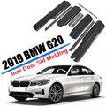 Автомобильный Стайлинг подходит для 2019 2020 BMW 3 серии G20 седан внутренняя порога рельефная Накладка для отделки из нержавеющей стали авто акс...